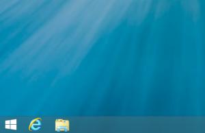 Windows8.1Preview デスクトップ画面