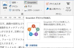 SmartArtの挿入