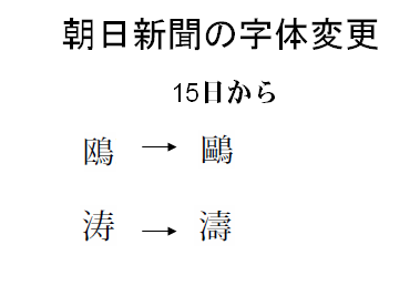 PDF 千夜一夜: 日本語の文字についての用語について(3) — 朝日文字